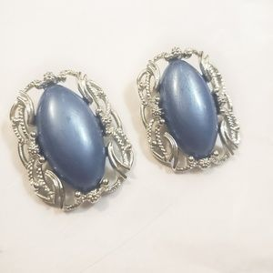 Rare Early Vintage Sarah Cov Oversized Earrings
